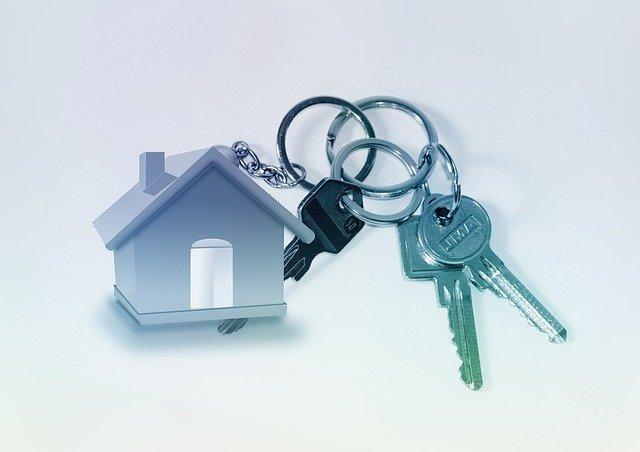 klíčky od dveří