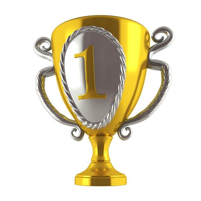 vítězný pohár