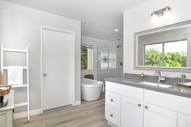 koupelna u kuchyně